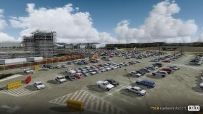 YSCB Canberra Airport screenshot
