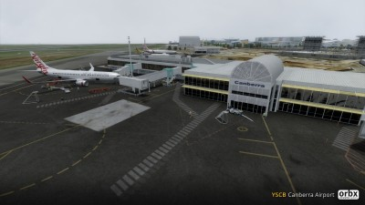 YSCB Canberra Airport screenshot