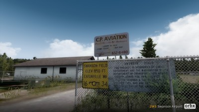 2W3 Swanson Airport screenshot