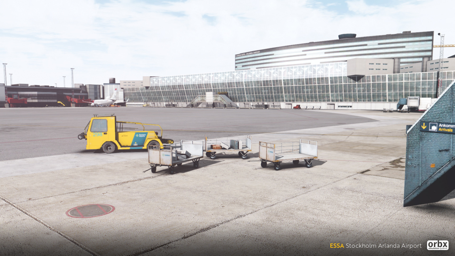 ESSA Stockholm Arlanda Airport