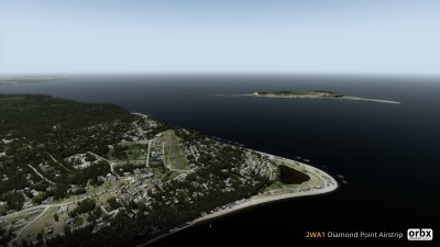 2WA1 Diamond Point Airstrip screenshot