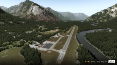 CYBD Bella Coola Airport screenshot