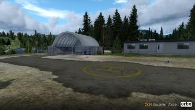 CYSE Squamish Airport screenshot
