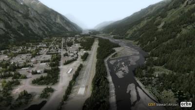 CZST Stewart Airport screenshot